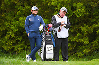 Tyrrell Hatton (ENG) looks over his tee shot on 12 during round 3 of the 2019 US Open, Pebble Beach Golf Links, Monterrey, California, USA. 6/15/2019.<br /> Picture: Golffile | Ken Murray<br /> <br /> All photo usage must carry mandatory copyright credit (© Golffile | Ken Murray)