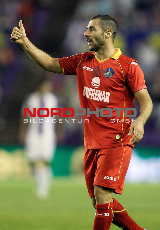 Getafe's Mehdi Lacen during La Liga match.August 31,2013. Foto © nph / Acero)