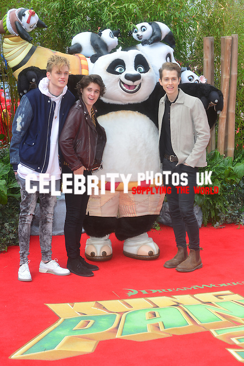 European Premiere of 'Kung Fu Panda 3' at the Odeon Leicester Square in London, England.