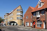 Hafniahus in R&oslash;nne, Insel Bornholm, D&auml;nemark, Europa<br /> Hafniahus, Roenne, Isle of Bornholm, Denmark