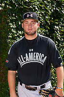 Pitcher Alec Brown of Fox Lane, New York poses for a photo before the Under Armour All-American Game on August 24, 2013 at Wrigley Field in Chicago, Illinois.  (Mike Janes/Four Seam Images)