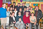 50TH CELEBRATIONS: Maurice Dowling, Lyrecrompane (seated 2nd left) celebrated his 50th birthday with family and friends in O'Connor's Bar, Duagh, on Saturday night.   Copyright Kerry's Eye 2008