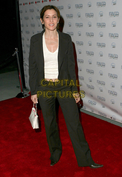AMY POWERS.DVD Exclusive Awards 2005 held at the California Science Centre, Los Angeles, California , USA, 08 February 2005..full length.Ref: ADM.www.capitalpictures.com.sales@capitalpictures.com.©Zach Lipp/AdMedia/Capital Pictures .
