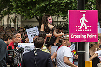 "10.08.2013 - ""UK Supports LGBT Russia Protest"""