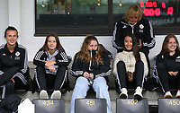 OHL's reserver team players pictured before a female soccer game between Oud Heverlee Leuven and AA Gent Ladies  on the first matchday of the 2020 - 2021 season of Belgian Women's SuperLeague , sunday 30 of August 2020  in Heverlee , Belgium . PHOTO SPORTPIX.BE | SPP | SEVIL OKTEM