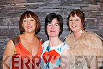 Eileen Kennedy Caragh Lake, Liz McCarthy Keel and Mary O'Neill Killorglin at the Kerry Fashion Week fashion show in Jack's restaurant Cromane on Thursday evening..