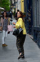 PAULA ECHEVARRÍA Y ARIADNA ARTILES COMEN JUNTAS EN MADRID. /©NortePhoto
