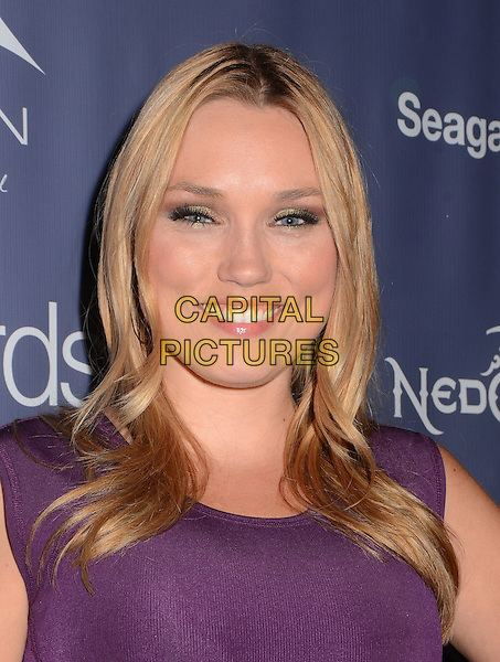 Clare Grant<br /> The first annual Geekie Awards at The Avalon Hollywood in Hollywood, CA., USA.  <br /> August 18th, 2013<br /> headshot portrait purple <br /> CAP/ADM/BT<br /> &copy;Birdie Thompson/AdMedia/Capital Pictures