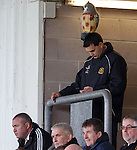Dumbarton manager Ian Murray banned from the dugout and texting Ross Jack from beneath a toy owl