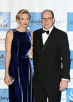 Prince Albert II of Monaco & Princess Charlene attend the MONAA Gala - Monaco
