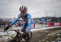 Katerina Nash (CZE) battling in 3rd position<br /> <br /> Women's Race<br /> UCI 2017 Cyclocross World Championships<br /> <br /> january 2017, Bieles/Luxemburg