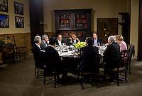 François Hollande meets with Barack Obama - Camp David