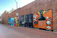 WASHINGTON D.C. - JUNE 23: Ahead of historic vote on DC statehood, Mayor Muriel Bowser has commissioned #MuralsDC51, a project to create 51 statehood, Black history, and social justice themed murals across all eight wards in Washington D.C. on June 23, 2020. <br /> CAP/MPI34<br /> ©MPI34/Capital Pictures