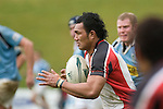 Taiasina Tuifua heads upfield. Air New Zealand Cup pre-season rugby game between the Counties Manukau Steelers & Northland, played at Growers Stadium on July 21st, 2007. Counties Manukau won 28 - 17.