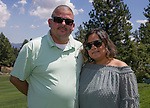 Jafet and Sylvia during the Barracuda Championship PGA golf tournament at Montrêux Golf and Country Club in Reno, Nevada on Saturday, July 27, 2019.