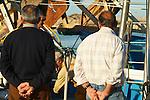 Denia  Il porto. L'arrivo dei pescherecci nel tardo pomeriggio<br /> &copy;-Paolo della Corte
