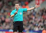 Referee Kevin Friend<br /> - Barclays Premier League - Stoke City vs Manchester United - Britannia Stadium - Stoke on Trent - England - 26th December 2015 - Pic Robin Parker/Sportimage
