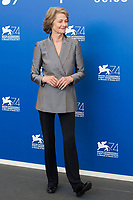 Charlotte Rampling during the 'Hannah' photocall at the 74th Venice International Film Festival at the Palazzo del Casino on September 08, 2017 in Venice, Italy