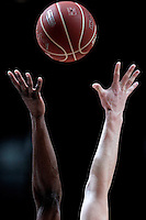 Basketball illustration during Liga Endesa ACB match.January 6,2012. (ALTERPHOTOS/Acero) /NortePhoto