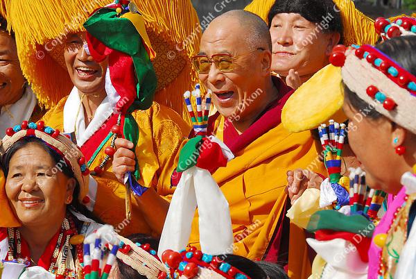 EXCLUSIVE Dalai Lama, Tenshug (Long Life Ceremony), Madison, Wisconsin, 8/24/08