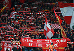 Liverpool fans on the Kop during the Champions League Semi Final 1st Leg match at Anfield Stadium, Liverpool. Picture date: 24th April 2018. Picture credit should read: Simon Bellis/Sportimage