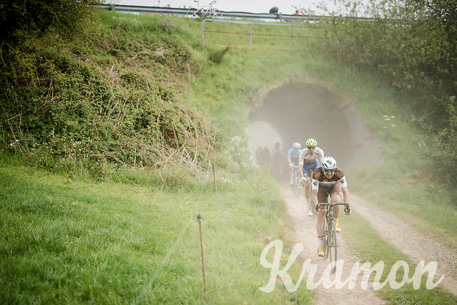 exiting the tunnel over the Breton gravel roads<br /> <br /> 36th TRO BRO LEON 2019 (FRA)<br /> One day race from Plouguerneau to Lannilis (205km)<br /> <br /> ©kramon