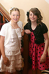 Jessica Moore and Beth Sheridan at the confirmation in Termonfeckin Church...Photo NEWSFILE/Jenny Matthews.(Photo credit should read Jenny Matthews/NEWSFILE)....This Picture has been sent you under the condtions enclosed by:.Newsfile Ltd..The Studio,.Millmount Abbey,.Drogheda,.Co Meath..Ireland..Tel: +353(0)41-9871240.Fax: +353(0)41-9871260.GSM: +353(0)86-2500958.email: pictures@newsfile.ie.www.newsfile.ie.FTP: 193.120.102.198.