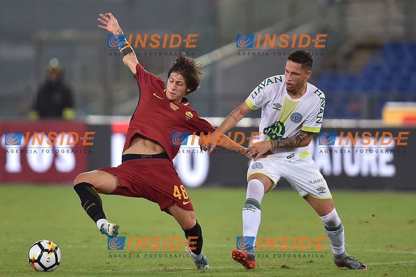 Mirko Antenucci Roma <br /> Roma 01-09-2017 Stadio Olimpico Football Friendly match AS Roma - Chapecoense Foto Andrea Staccioli / Insidefoto