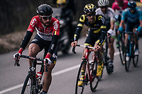 Thomas de Gendt (BEL/Lotto-Soudal)<br /> <br /> 76th Paris-Nice 2018<br /> stage 6: Sisteron &gt; Vence (198km)