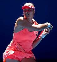 Nadia Petrova (RUS)  (19) against Svetlana Kuznetsova (RUS) (3) in the Fourth Round of the Womens Singles. Petrova beat Kuznetsova 6-3 3-6 6-1..International Tennis - Australian Open Tennis - Sunday 24  Jan 2010 - Melbourne Park - Melbourne - Australia ..© Frey - AMN Images, 1st Floor, Barry House, 20-22 Worple Road, London, SW19 4DH.Tel - +44 20 8947 0100.mfrey@advantagemedianet.com