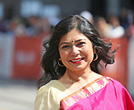 Shrabani Basu attends the 'Victoria & Abdul' premiere during the 2017 Toronto International Film Festival at Princess of Wales Theatre on September 10, 2017 in Toronto, Canada.