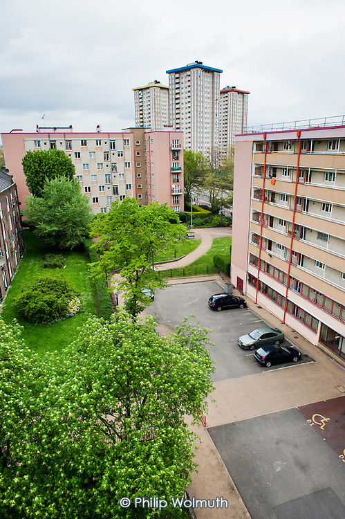 Several blocks on Regents Park Estate, and one of the three towers on Ampthill Square Estate, are threatened with demolition to make way for the HS2 high speed rail line out of nearby Euston station.