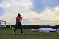Tommy Fleetwood (ENG) walks off the 14th tee during Saturday's Round 3 of the 118th U.S. Open Championship 2018, held at Shinnecock Hills Club, Southampton, New Jersey, USA. 16th June 2018.<br /> Picture: Eoin Clarke | Golffile<br /> <br /> <br /> All photos usage must carry mandatory copyright credit (&copy; Golffile | Eoin Clarke)