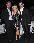 Christopher Lloyd,Julie Bowen and Ty Burrell at the Les Girls 10th Annual Cabaret fundraiser for National Breast Cancer Coalition Fund -NBCCF- held at Avalon in Hollywood, California on October 04,2010                                                                               © 2010 Debbie VanStory / RockinExposures