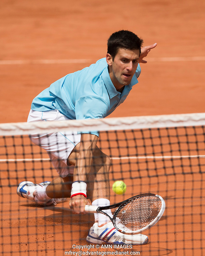 NOVAK DJOKOVIC (SRB)<br /> <br /> Tennis - French Open 2014 -  Toland Garros - Paris -  ATP-WTA - ITF - 2014  - France <br /> 30th June 2014. <br /> <br /> &copy; AMN IMAGES