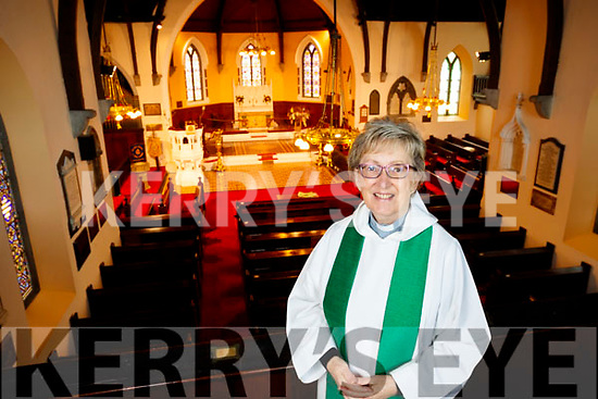 Saint John's Church Ashe Street Rev Phyllis Jones.