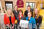 HR & Business Solutions who won the National Standards Authority of Ireland Excellence through People Gold Award, from left: Rebecca Kiely, Susan Kelly, Caroline McEnery, Aideen Ledwith, Carl Manzor and Bríd Fallon.