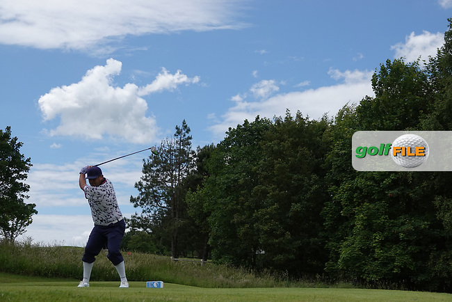 Joel Sjoholm (SWE) during the third round of the Hauts de France-Pas de Calais Golf Open, Aa Saint-Omer GC, Saint- Omer, France. 15/06/2019<br /> Picture: Golffile | Phil Inglis<br /> <br /> <br /> All photo usage must carry mandatory copyright credit (© Golffile | Phil Inglis)