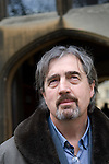Sebastian Barry, award-winning Irish novelist, at Christ Church during the FT Weekend Oxford Literary Festival, Oxford, UK. Wednesday 26 March 2014.<br /> <br /> PHOTO COPYRIGHT Graham Harrison<br /> graham@grahamharrison.com<br /> <br /> Moral rights asserted.