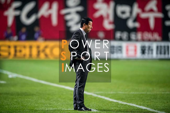 FC Seoul (KOR) vs Jeonbuk Hyundai Motors (KOR) during their AFC Champions League 2016 Semi Final match at Seoul World Cup Stadium on 19 October 2016, in Seoul, South Korea. Photo by Vivek Prakash / Power Sport Images