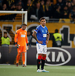 03.10.2019 Young Boys of Bern v Rangers: James Tavernier dejection