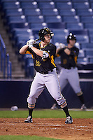Bradenton Marauders left fielder Jordan Luplow (26) at bat during a game against the Tampa Yankees on April 11, 2016 at George M. Steinbrenner Field in Tampa, Florida.  Tampa defeated Bradenton 5-2.  (Mike Janes/Four Seam Images)