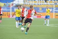 VOETBAL: LEEUWARDEN: 16-08-2015, SC Cambuur - Feyenoord, uitslag 0-2, Jan-Arie van der Heijden (#6), ©foto Martin de Jong