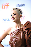 Andrea Riseborough attends the 'Battle of the Sexesl' premiere during the 2017 Toronto International Film Festival at Ryerson Theatre on September 10, 2017 in Toronto, Canada.