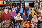 A great turn out for Thanksgiving Celebrations in Craineen's Bar Cahersiveen on Thursday night last with host Tommy Lapsley front centre.