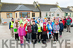 Cashen Pier Charity Walk : Group pictured at the statr of the Cashen Good Friday charity walk in aid of the Kerry Hospice Movement.