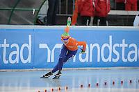 SCHAATSEN: BOEDAPEST: Essent ISU European Championships, 07-01-2012, 1500m Ladies, Diane Valkenburg NED, ©foto Martin de Jong
