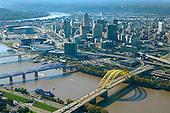 Cincinnati on Ohio River during Tall Stacks Festival.