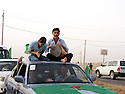 Iraq 2011 PUK supporters celebrating in Erbil the 36th anniversary of the party
