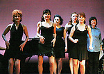 """Martina Vidmar, Leslie E. Hughes, Emily King Brown, Tiffany Rudi, Mary Lou Barber, Kathleen Conry perform """"One Dress"""" at """"Union Women at Work: Inspiration In Motion"""" on March 5, 2012 at Theatre at Saint Peter's Church - Home of The York Theatre, New York City, New York which was """"sponsored by Actors' Equity Associations Eastern EEO Committee.  The event was an Equity event in celebration of Womens History Month.  (Photo by Sue Coflin/Max Photos) (Photo by Sue Coflin/Max Photos)"""